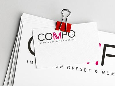 Compo 72 – Imprimeur offset & numérique Sarthe Paris Le Mans papeterie